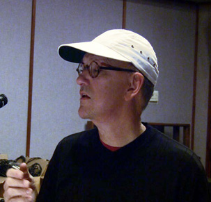 Randy Goodrum singing  YOUR HEARTBREAK at Garden Rake Studios Nov. 2008